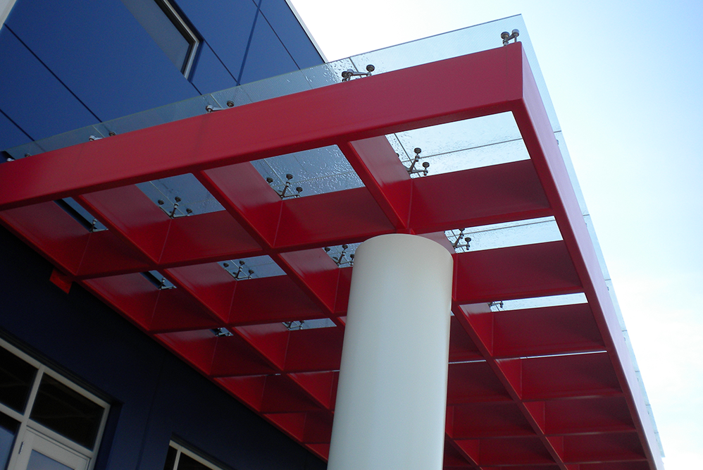 Structural Glass Canopy Systems : Architectural systems glass and mirror craft