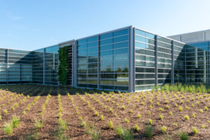 high tech automotive facility