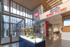 Photo of Detroit Pistons Vestibule